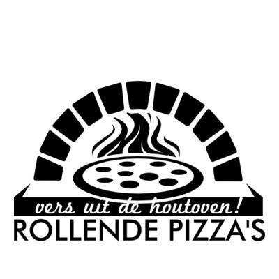 Rollende pizza's